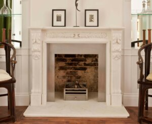 Great value continues with our marble fireplaces