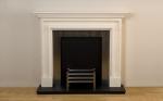 Chambre Bolection Limestone Fireplace