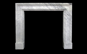 Simple Bolection Marble Fireplace