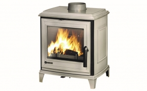 Invicta Sedan S Cast Iron Stove – Grey Enamel