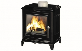 Invicta Sedan S Cast Iron Stove – Black Enamel