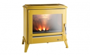 Invicta Modena Cast Iron Stove – Yellow Enamel