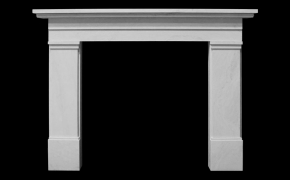 Camberley Marble Fireplace