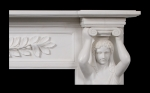 Aphrodite Marble Fireplace