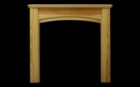 Bow Front Fireplace