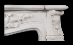 Louis XV Marble Fire Surround