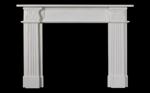 Acanthus Marble Fireplace