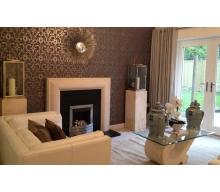 Arlington Limestone Fireplace