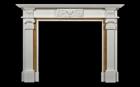 Ashbourne Marble Fireplace